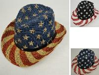 Flag Cowboy Hat [Hatband with Stars]